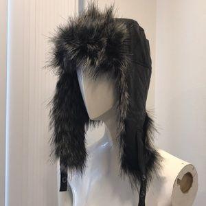 NWT! Express Fur Aviator Hat